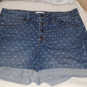 Sonoma jean shorts. 14